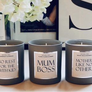 Mum Boss Candles